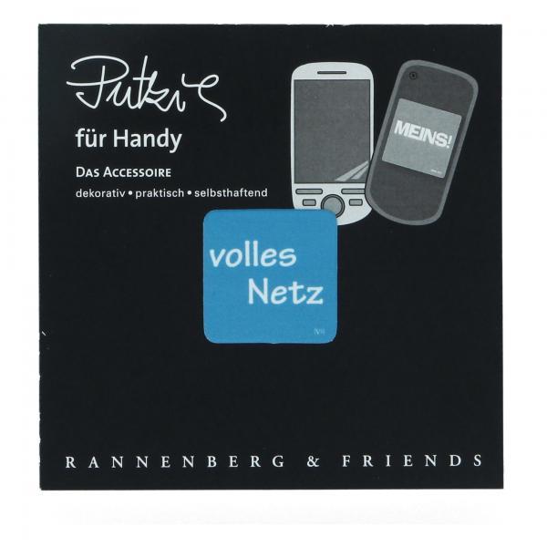 Handy Putzi Volles Netz 3x3 cm Rannenberg & Friends Putztuch Displaytuch Mikrofaser RHP021