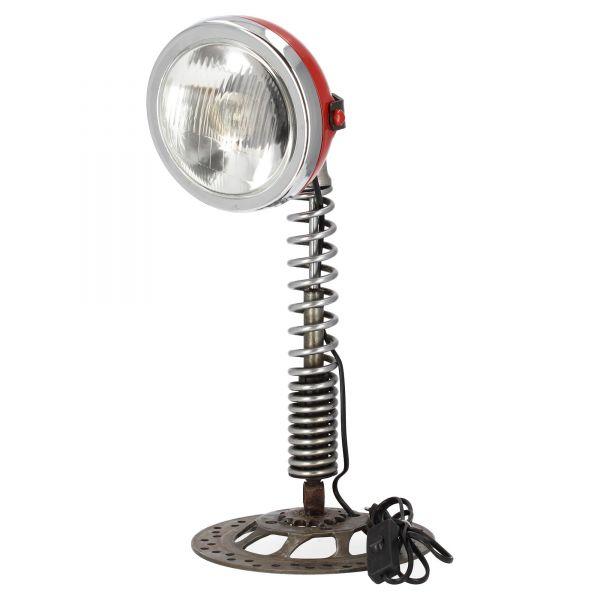 """Henrik Steen Schreibtischlampe """"Scheinwerfer rot"""", 11PT331-50-R Produktansicht"""