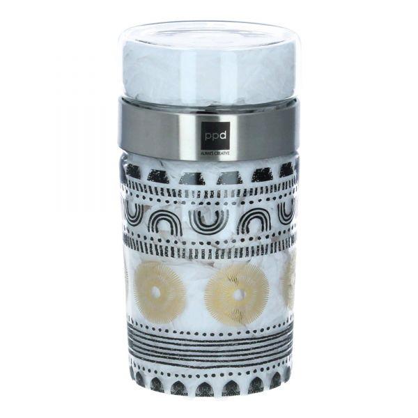 ppd Aufbewahrung Lunchbox Brotzeit Glas Snack 2 Go Ethno Style 2 tlg. Produktbild