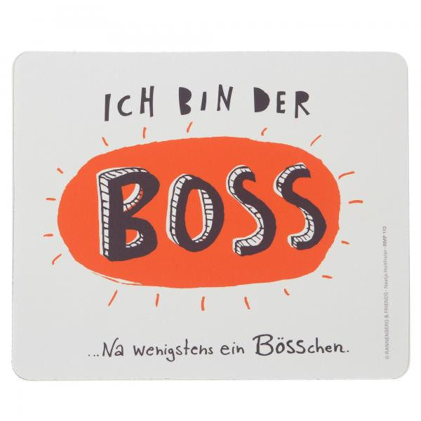 """Maus-Pad """"BOSS"""" Rannenberg Mouse-Pad Computer Tablets"""