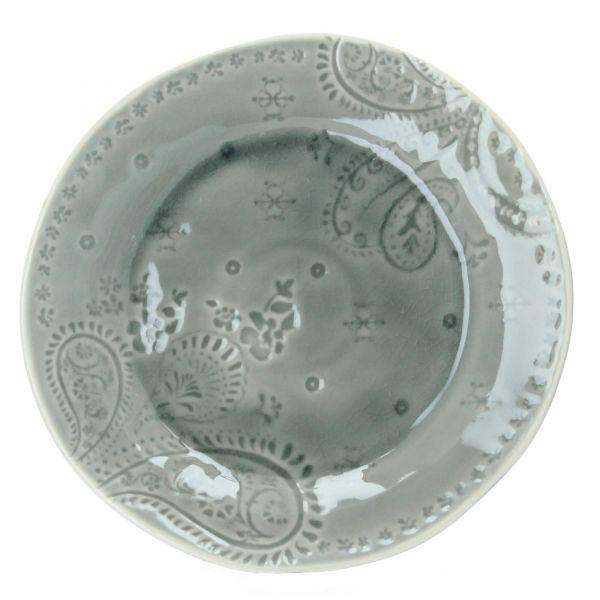Teller Rani Steingut D 26,5 cm grau Bloomingville Produktbild