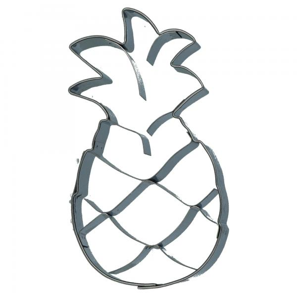 Städter Ausstecher Ananas Party Backen Plätzchenausstecher Produktansicht