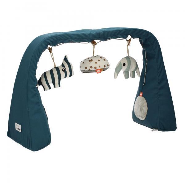 Baby Spiel ACTIVITY Bogen Blau by donebydeer 40722 Zoopreme Rassel-Tierchen Ansicht