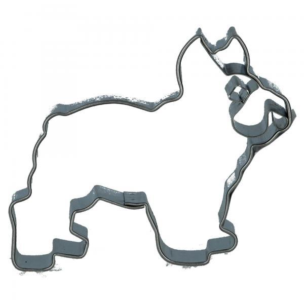 Städter Prägeausstecher, Bulldogge, 065123, für Plätzchen backen Produktansicht