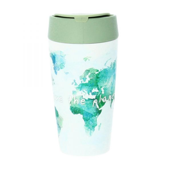 Chic Mic Bioloco Trinkbecher 420 ml PLA save the planet Produktbild