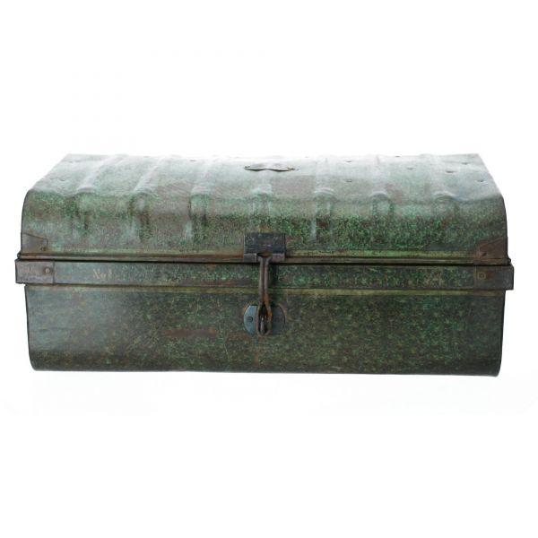 Raw Materials Koffer Aufbewahrungsbox alt grün Produktbild