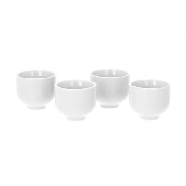 blomus RO Eierbecher 4er Set Porzellan nimbus cloud kpl