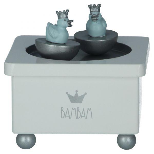 BamBam Spieluhr mit blauen Enten Einschlafhilfe 89080 Produktansicht