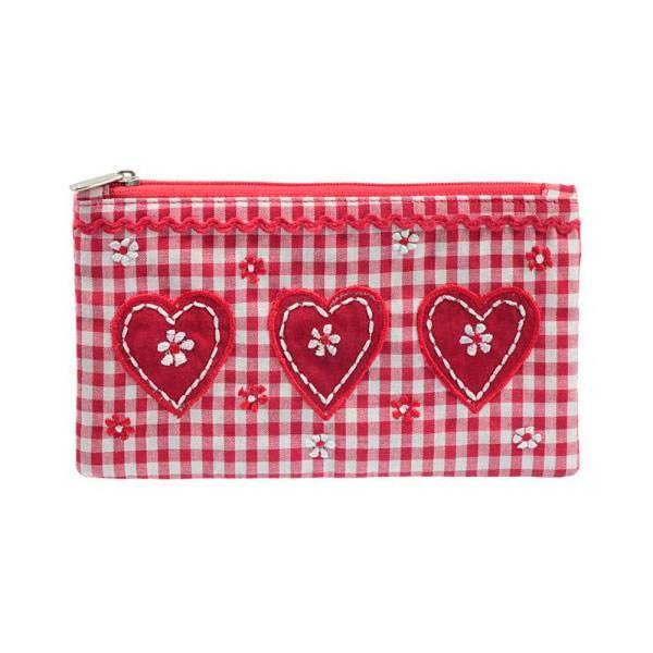 Wendekreis Kosmetiktasche Heart, mit 3 Herzen, 41504116