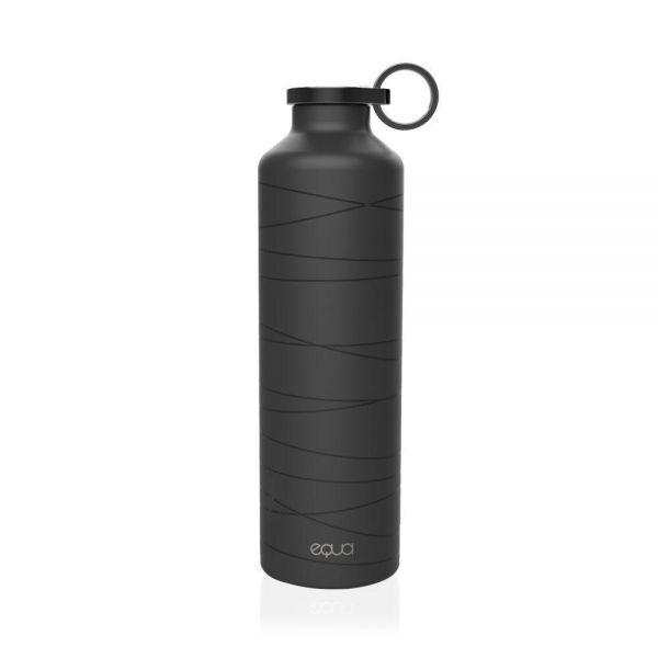 equa Basic Isolierflasche 680ml Mr. Matt Trinkflasche Wasserflasche Produktansicht