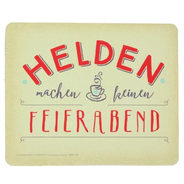 """Maus-Pad """"Helden"""" Rannenberg"""