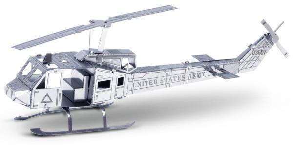 Metal Earth 3D Bausatz Helikopter Huey UH-1 Produktansicht