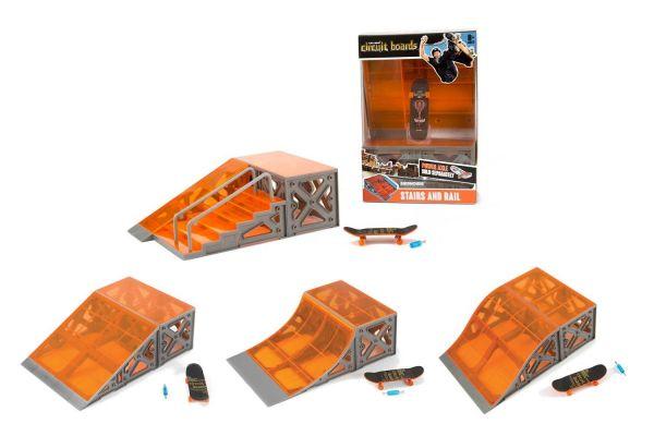 Hexbug Circuit Board Ramp Collection 501836, mit 1 von 4 verschiedenen Rampen zum sammeln