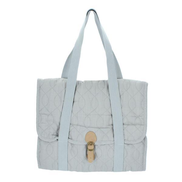 sebra Wickeltasche elephant grey Kinderwagentasche Wickelunterlage Produktansicht