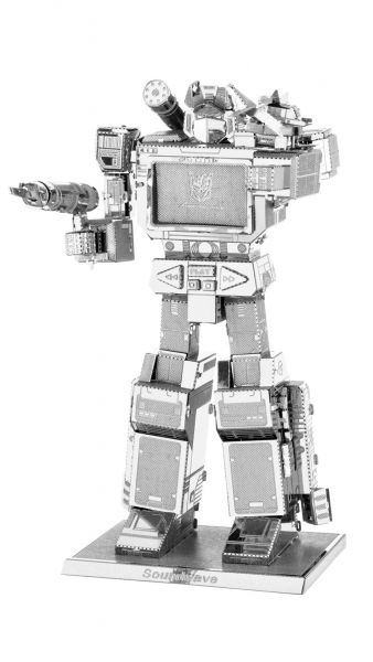 Metal Earth 3D Metall Modell Transformers Soundwave MMS302 Puzzle