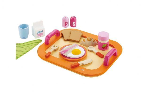 """Trudi 82317 """"Frühstückstablett"""" Tablett Rollenspiel Kinder Entwicklung Spielzeug"""
