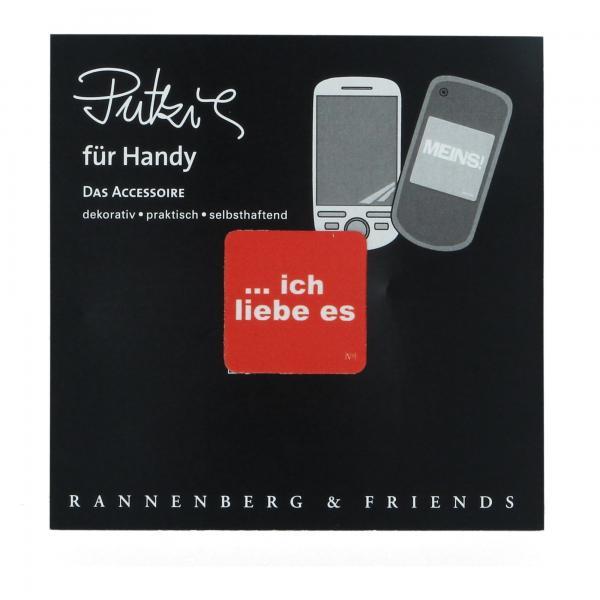 Rannenberg Handy Putzi Ich liebe es