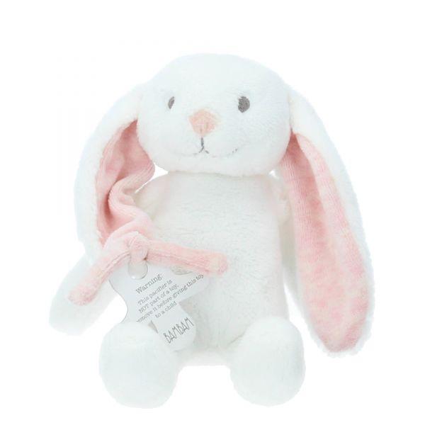 Stofftier Hase mit Geschenkverpackung BamBam rosa Produktbild