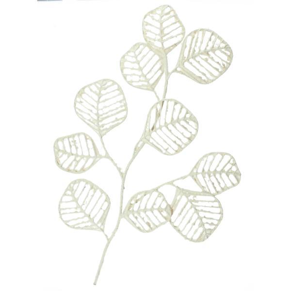 Bloomingville Blätter Wanddeko 48x81cm weiß Produktbild