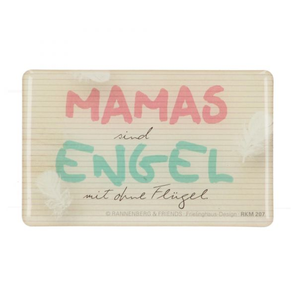 "Rannenberg Kühlschrankmagnet ""Mamas sind Engel"" Magnet"