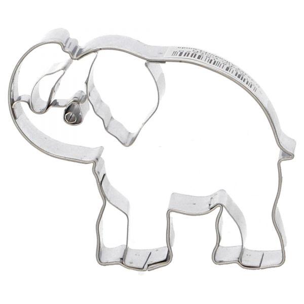 Städter Präge-Ausstecher Ausstecher Ausstechform Elefant 184220 Frontal
