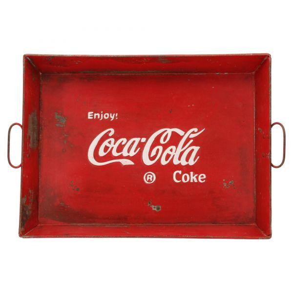 Hazenkamp Serviertablett Coca Cola HK27-2-1 Tablett Vorderseite
