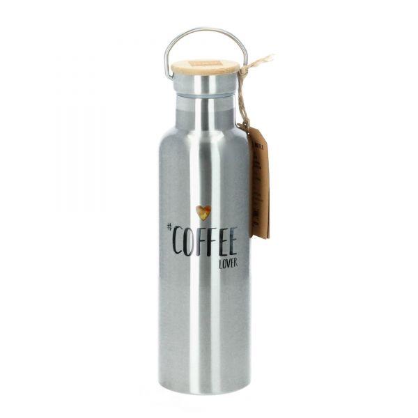 ppd Trinkflasche Edelstahl Isoflasche Coffee Lover 750 ml Produktbild