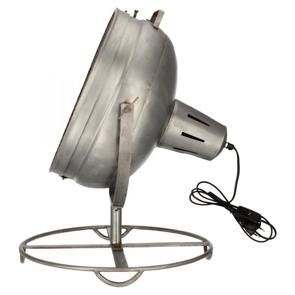 Nature and Style Bodenlampe Tischlampe Schweinwerfer Recycling seitlich 1