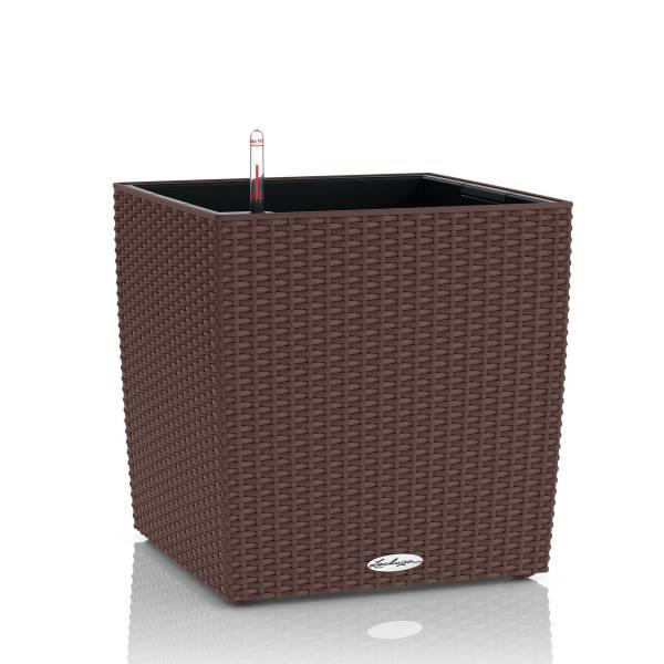 Lechuza cube 50 Cottage Mokka All-in-One Set Produktbild