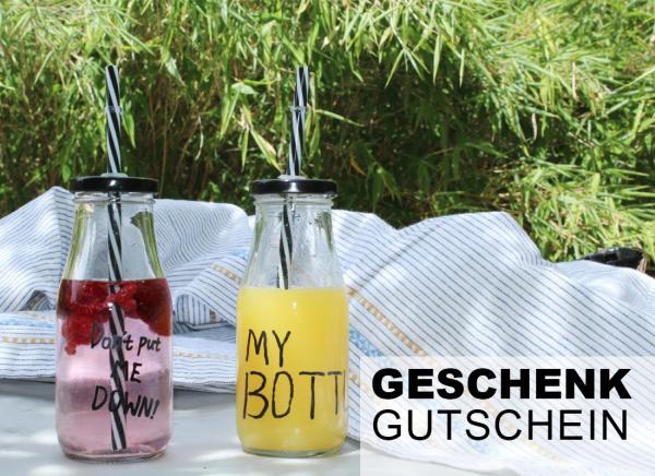 """Gutschein Motiv """"neutral"""" bei 2-flowerpower.com 100 Euro"""